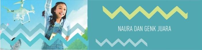 Naura dan Genk Juara (Graphic: Ngepopcom)