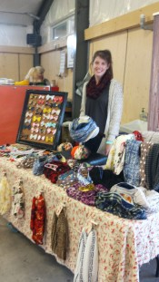 Natalie Higgs has beautiful infinity scarves in a variety of fabrics! Find one that is just right!
