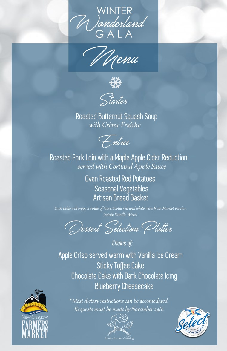 Winter Wonderland Gala Menu FINAL