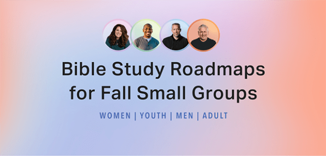 Equip your small group leaders this fall