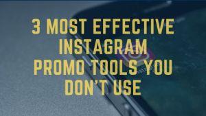 Instagram promotion tools