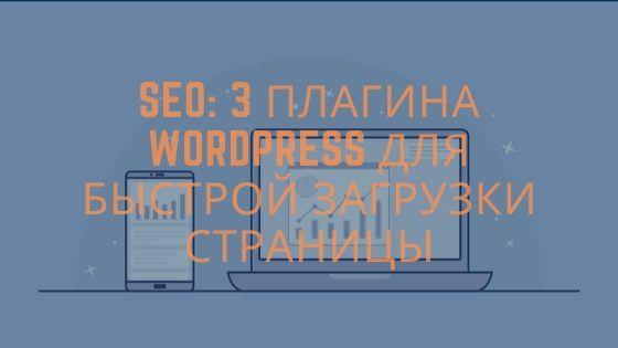 Плагины wordpress для быстрой загрузки