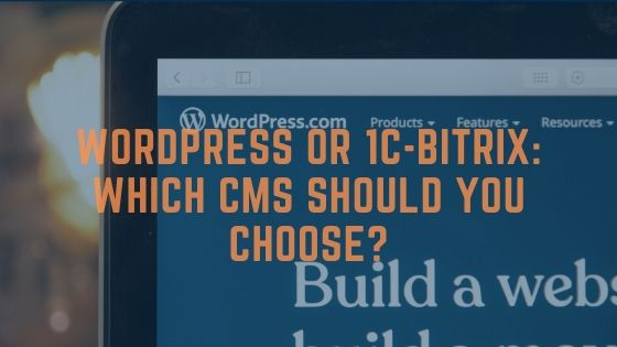 Wordpress or bitrix