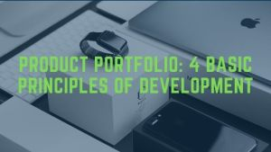 Product portfolio: 4 basic principles of development