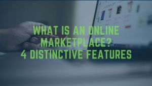 What is an online marketplace?