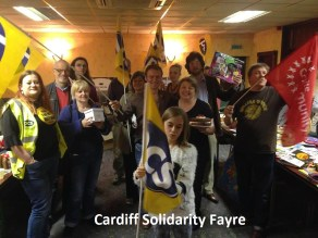 cardiff solidarity sale