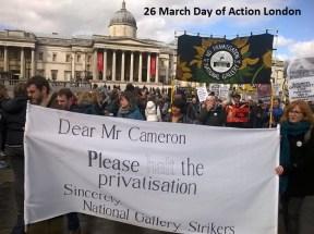 London demo 26 march