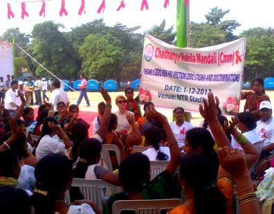 World AIDS day, Hyderabad, India