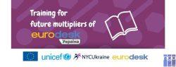 Тренінг для майбутніх мультиплікаторів Eurodesk Україна