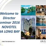 Oriflame Director Seminar 2016