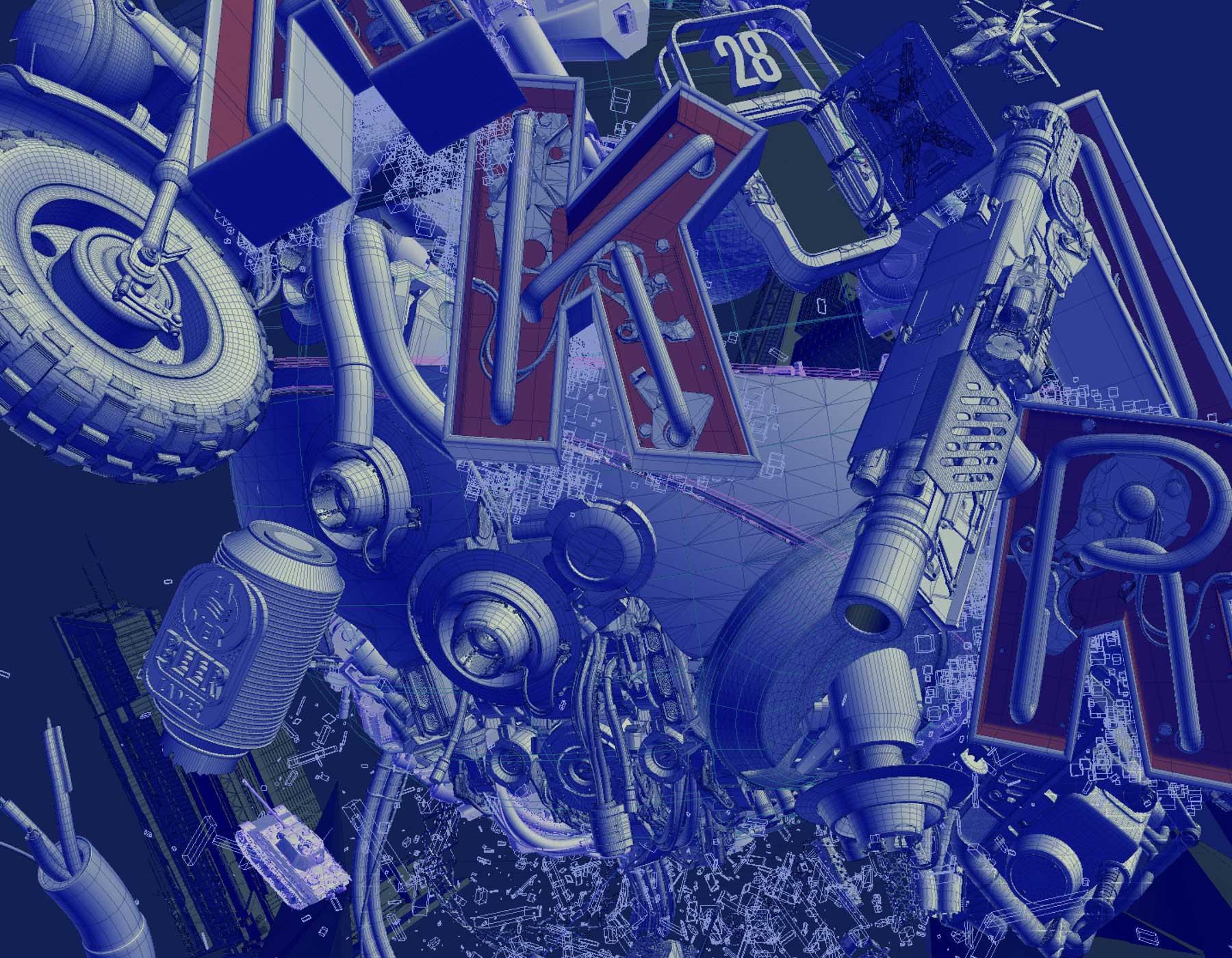 akira, ngon, Manchester Agency, 3d artist