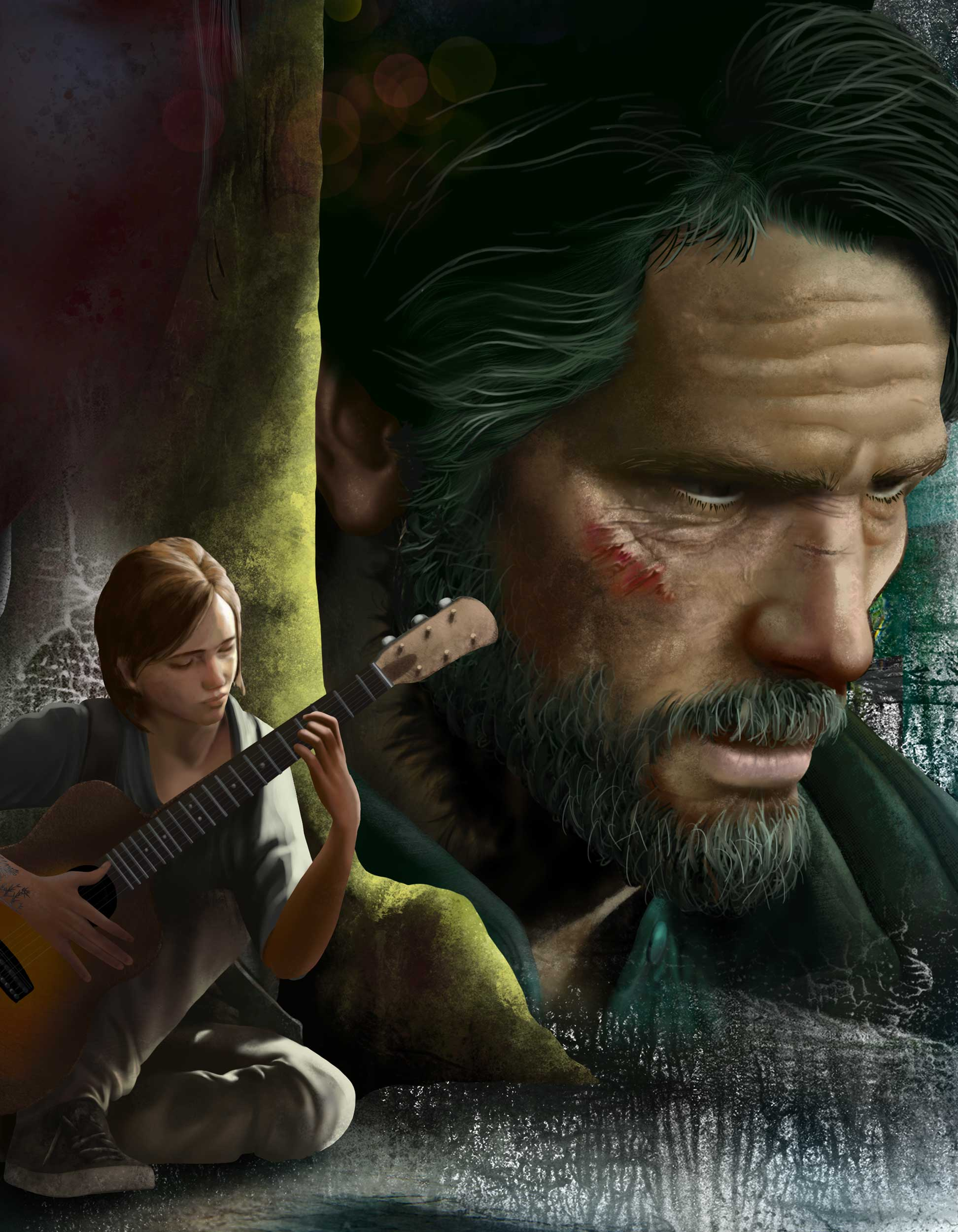 last of us part 2, Ngon, Manchester Agency, 3d artist