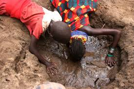 The water problem is a sad reality in Kenya