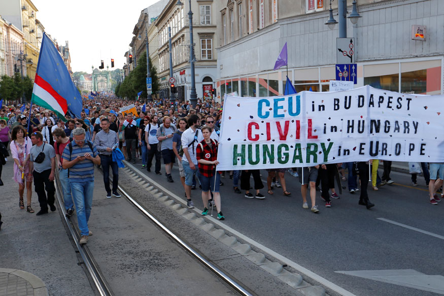 Hungary Passes Tough Anti-Foreign NGO Law