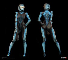 Mass Effect 3 – DLC Edi Alt Costume by AlexF