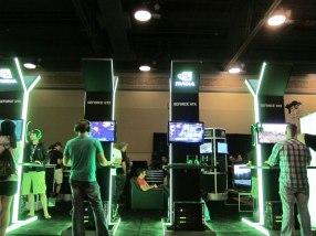 Nvidia's floor space