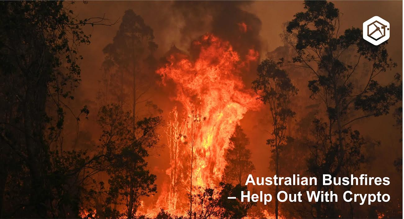 Australian Bushfires – Help Out With Crypto