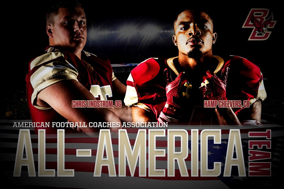 Cheevers, Lindstrom Earn AFCA/FBS Coaches' All-America Honors