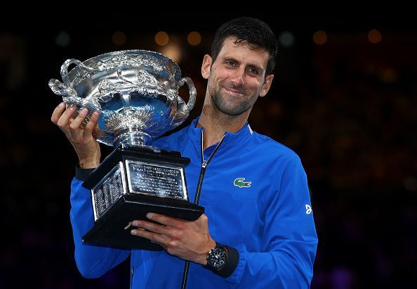 Djokovic Conquering Australian Open Title Historical Seventh Time
