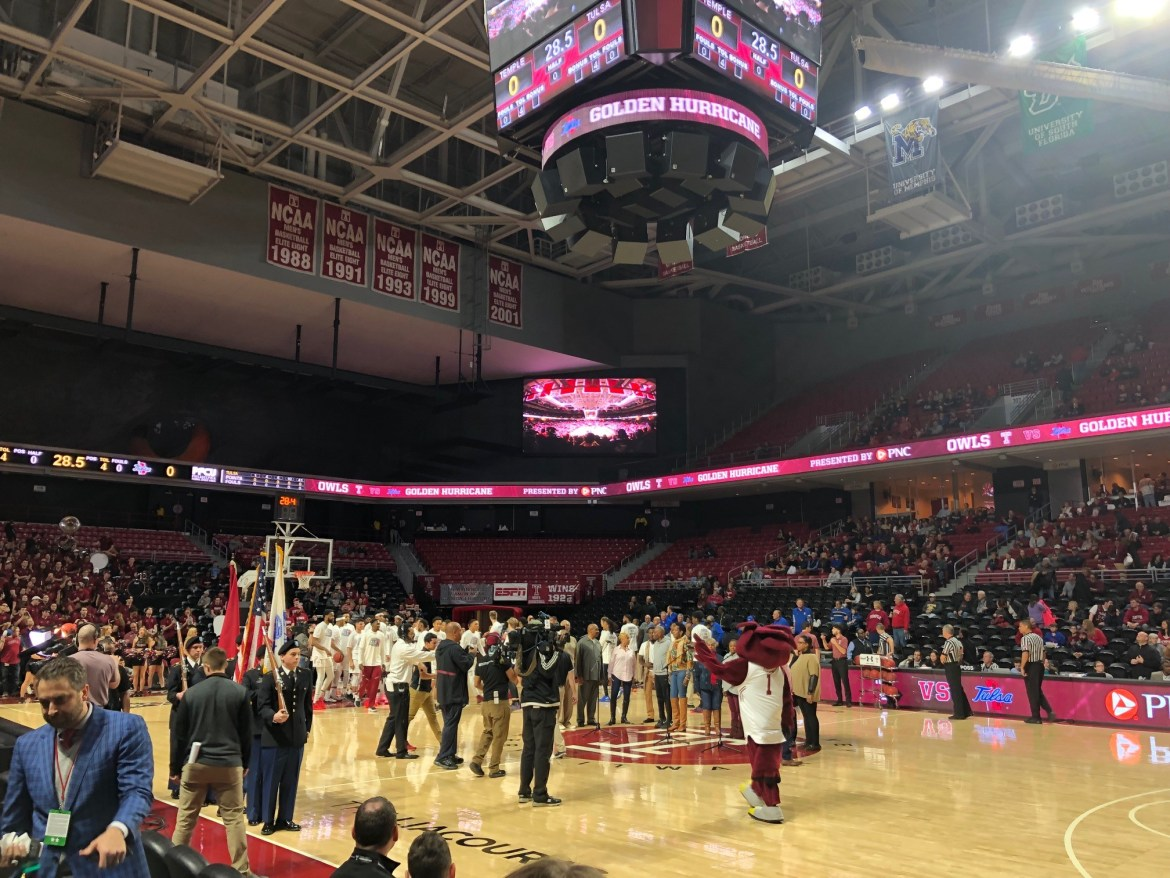 Temple's Strong Second Half Leads them to 20th Win