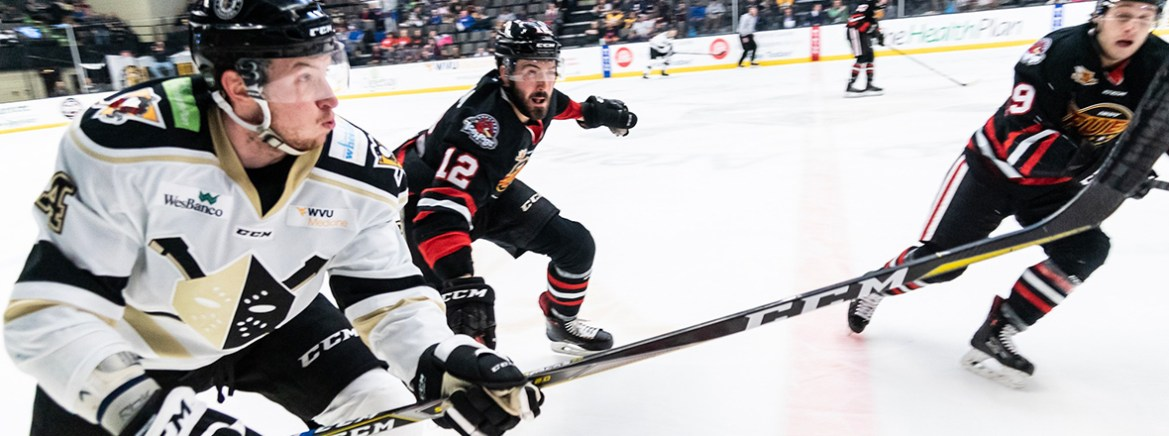Wheeling rides strong third period to win over Fuel
