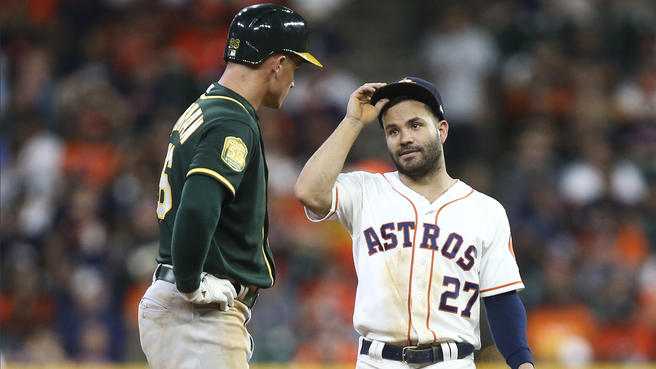MLB Swing: Astros start with win