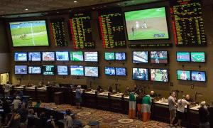 Sports betting center