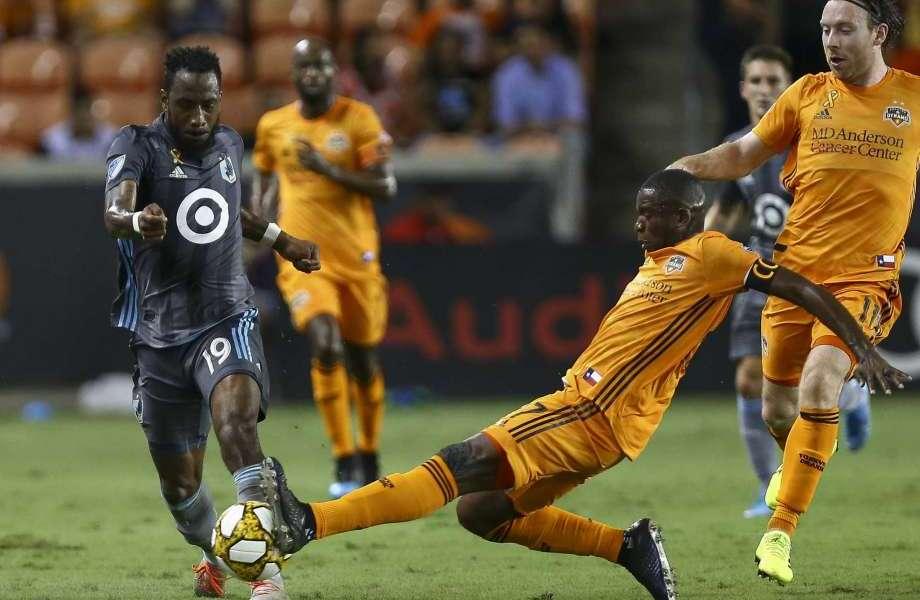 Dynamo vs Minnesota in Houston, TX at BBVA Compass Stadium