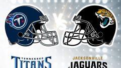 NFL Football Titans at Jags