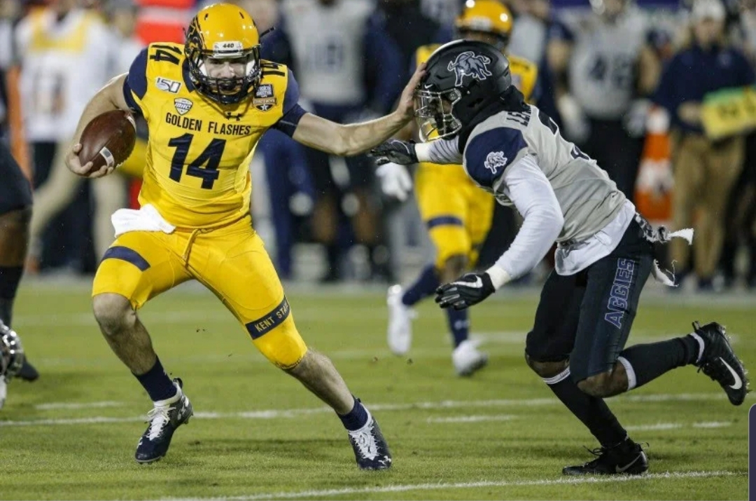 Golden Flashes Outlast Aggies in Frisco Bowl Shootout, 51-41