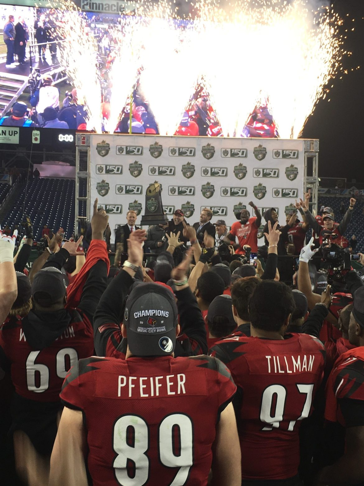 2019 Music City Bowl: Louisville defeats Mississippi State, 38-28
