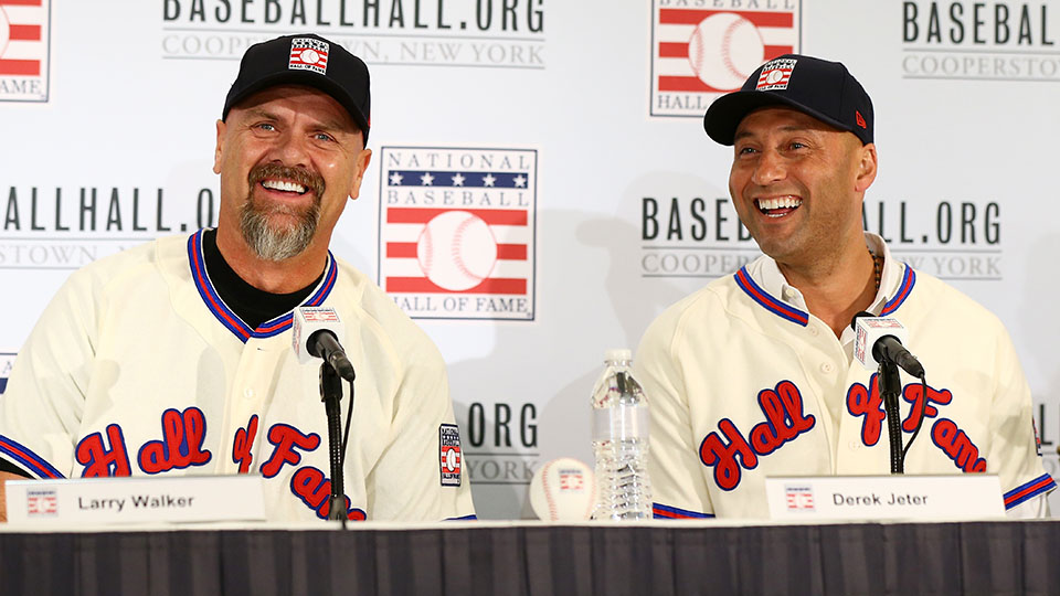 MLB Weekly Digest January 27th Edition: Derek Jeter, Larry Walker Bound for Cooperstown