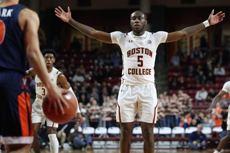 Boston College uses late run to upset #18 Virginia, 60-53