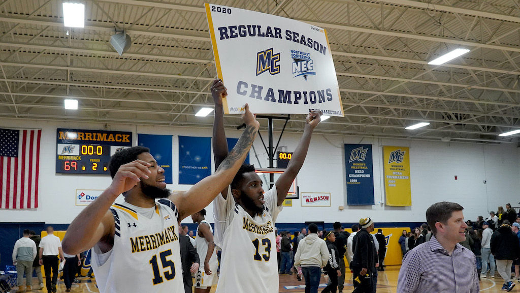 Merrimack Takes a share of Northeast Conference regular season crown