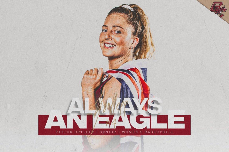 Always an Eagle: Taylor Ortlepp, Senior, Women's Basketball
