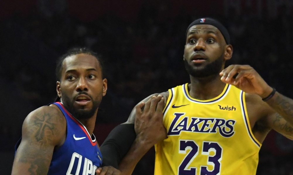 NBA: The 2020 Season Resumes with Lakers vs Clippers