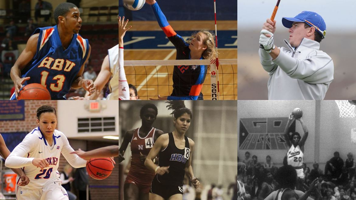 HBU Announces 2020 Sports Hall of Honor Class to be Inducted this Year