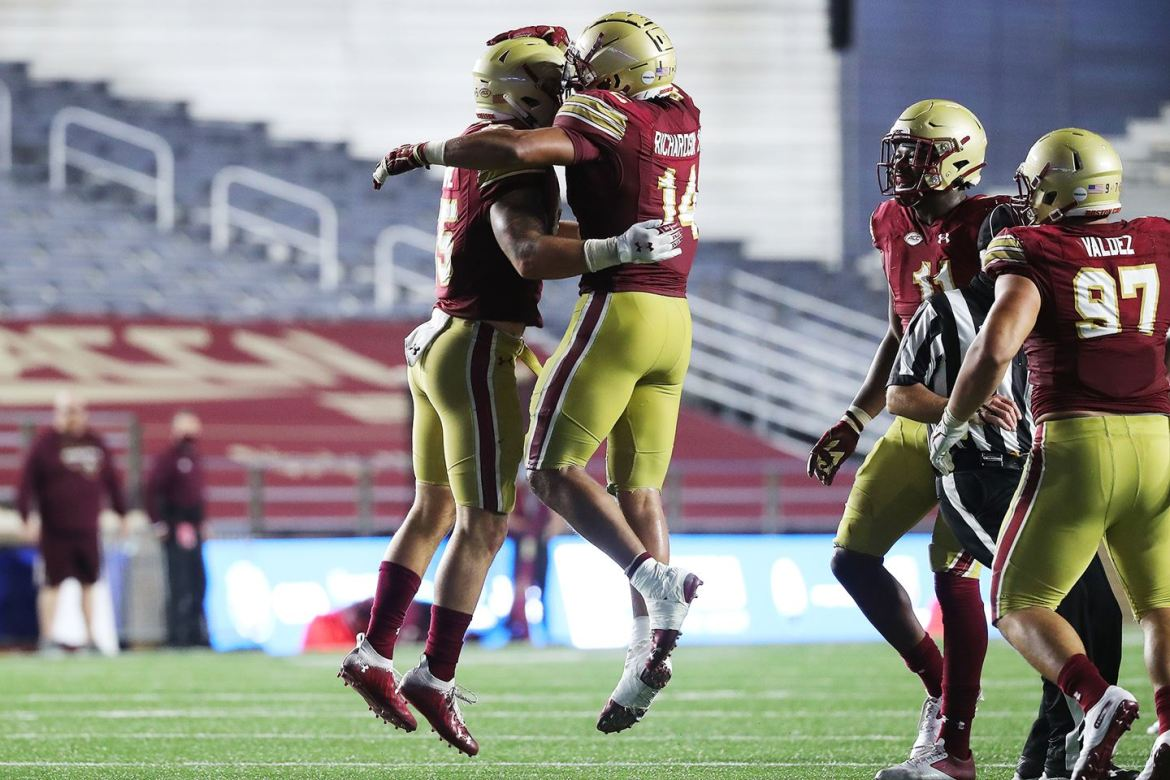 Boston College Football Notes – The North Carolina Game
