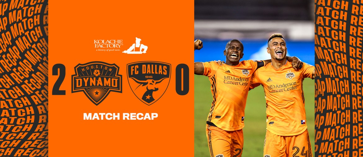 Houston Dynamo: 10-man Dynamo stand strong in 2-0 win over FC Dallas