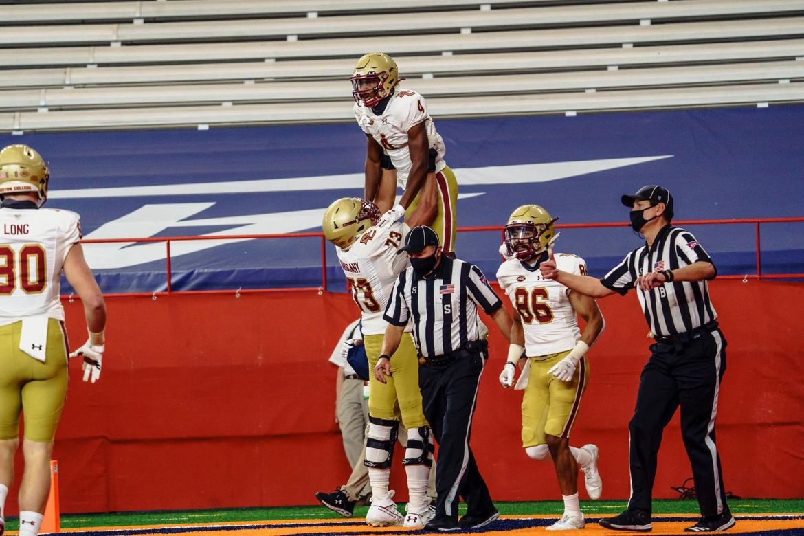 Boston College Trip to Syracuse Results in a 16-13 Win