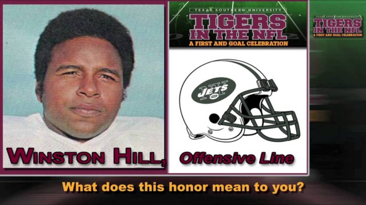 TSU Football Great, Pro Football Hall of Famer Winston Hill Inducted Into Black College Hall of Fame