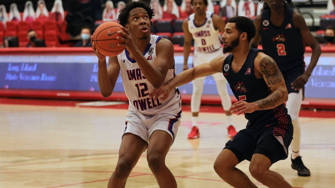 River Hawks Battle All the Way, but Drop 71-64 Decision at Stony Brook