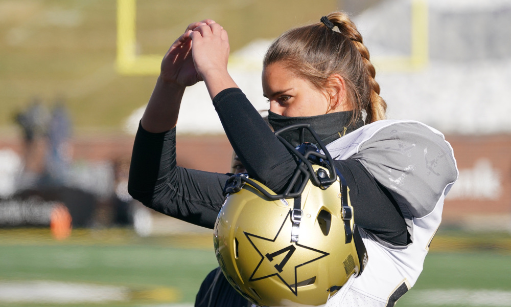 NCAA Football: A Great Story for Sarah Fuller