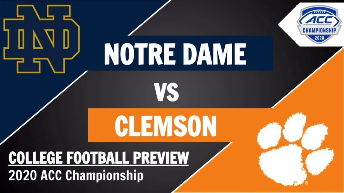 ACC Football News and Notes: Championship Week is Here