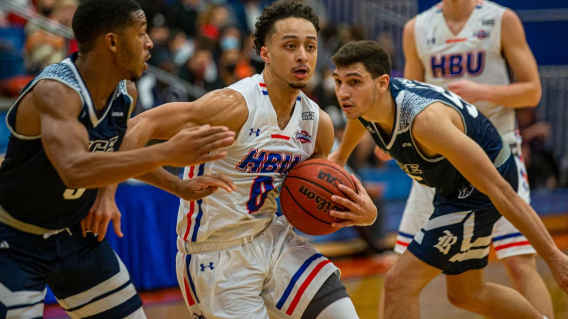 HBU Falls to Visiting Nicholls. Four players score in double-figures in loss