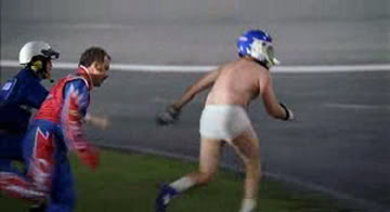 Sports Gras Day 2: Gump Delivers Shrimp, Ricky Bobby Sports Underwear