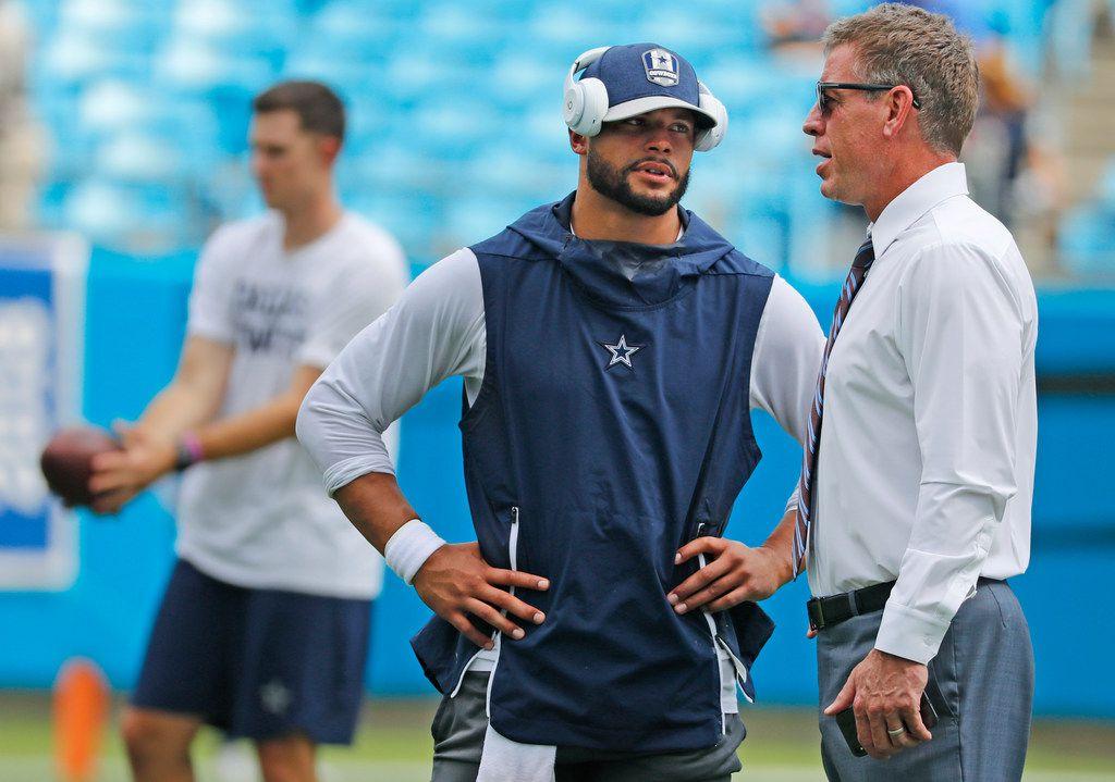 Dallas Cowboys: Aikman speaks on rebuilding mode, Dak Prescott's talent