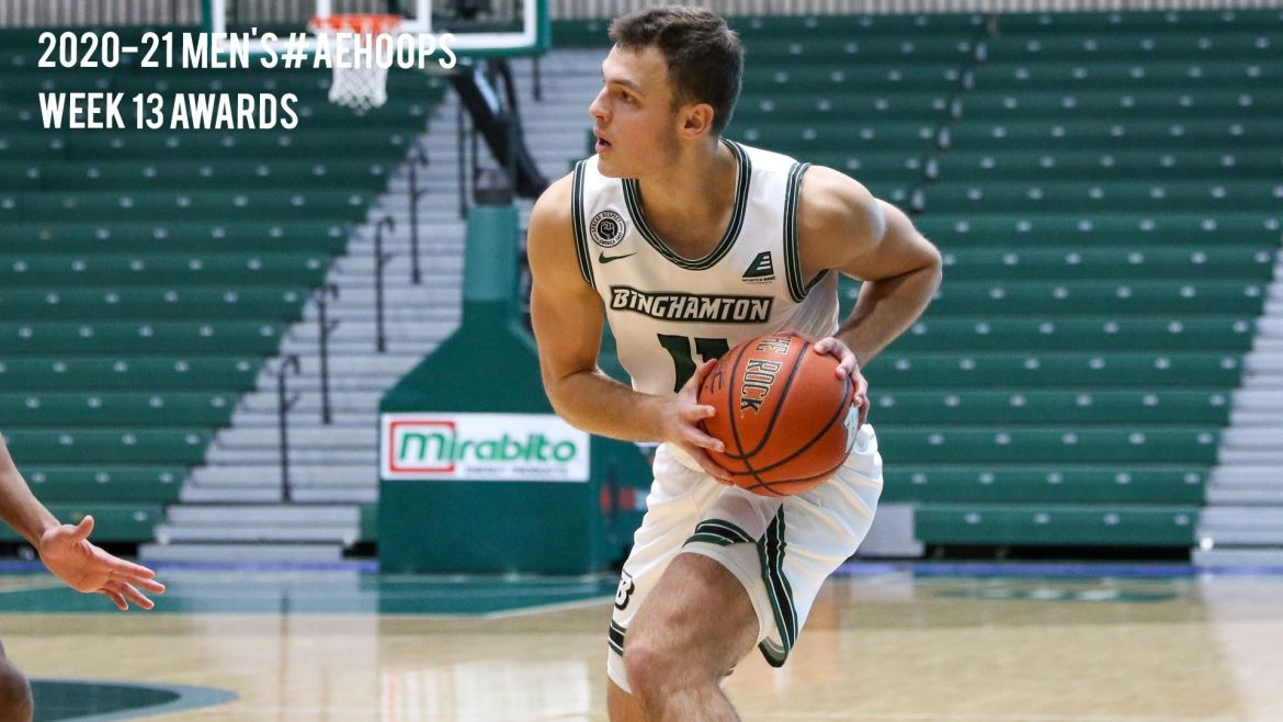 Final Men's #AEHoops Honors Bestowed with Playoffs Set to Start