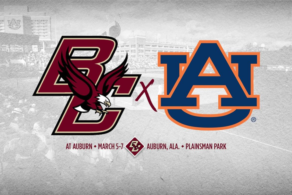 Boston College Baseball Shifts Out of Conference to Face Auburn