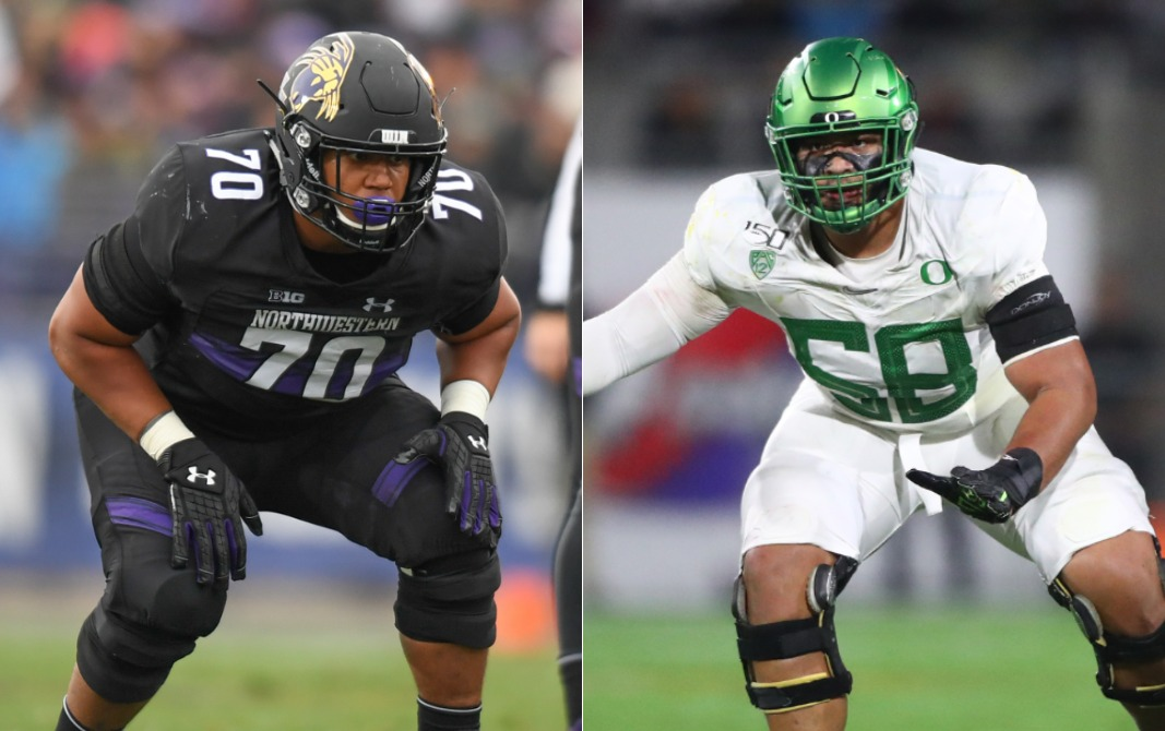 NFL Draft Profiles: Offensive Tackles Penei Sewell and Rashawn Slater